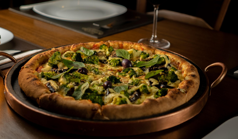 Pizzas artesanais com ingredientes de verdade!